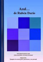 """""""Azul"""", de Rubén Darío"""