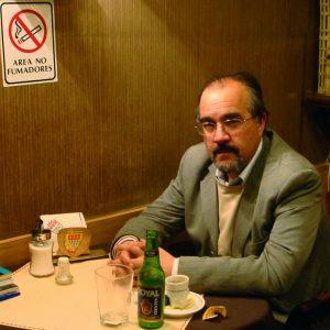 Escritor Ramón Díaz Eterovic