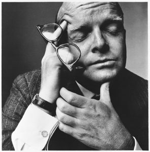 Truman Capote. Fotografía: Irving Penn